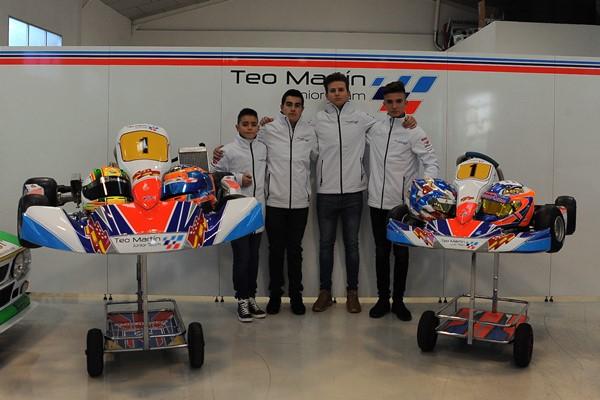 Teo Martín Motorsport presenta su 'Junior Team', del karting al Circuito