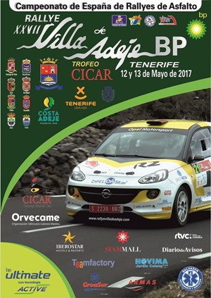Presentado en FITUR el cartel del Rallye Villa de Adeje 2017