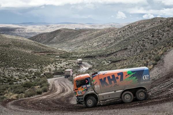 Dakar 2017 Camion KH7