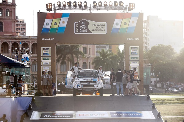 Dakar 2017 Cristina Gutierrez
