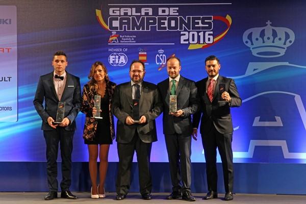 Mitsubishi triunfadora en la Gala de Campeones 2016