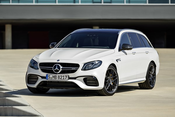 Mercedes Clase E Estate AMG, a la pista con el coche familiar