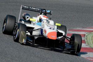 Pedro Cardoso test Winter Series Barcelona teo MMS