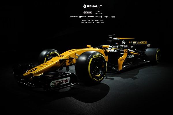 Renault desvela su monoplaza RS 17 de Fórmula 1