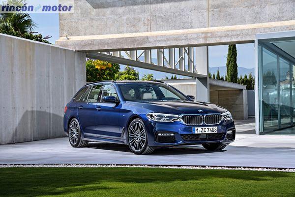 BMW Serie 5 Touring 2017, fotos generales