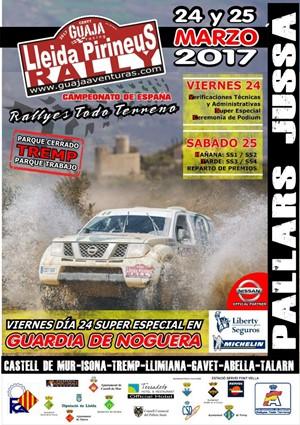 cartel rallye tt lleida pirineos 2017