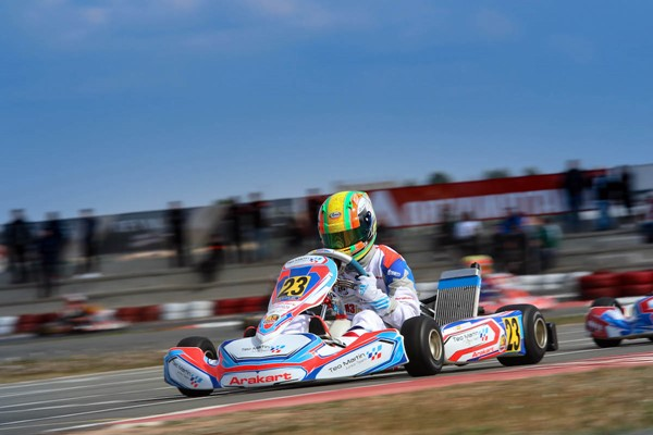moya karting winter series teo martin 2202
