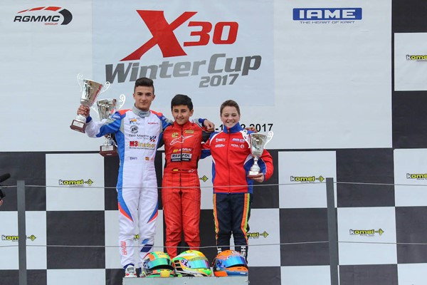 moya karting winter series teo martin