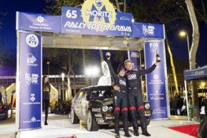 Battistolli-Pons Lancia Delta HF Integrale 16V rallye costa brava 2017