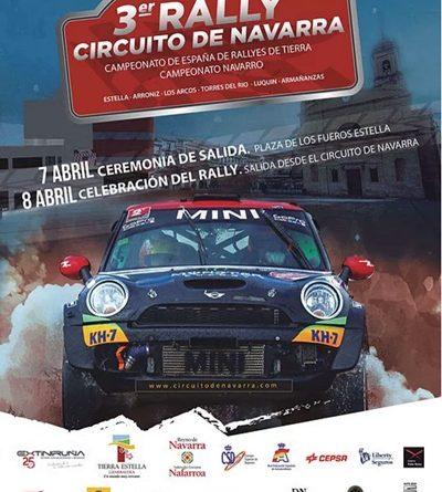 cartel rallye tierra navarra 2017