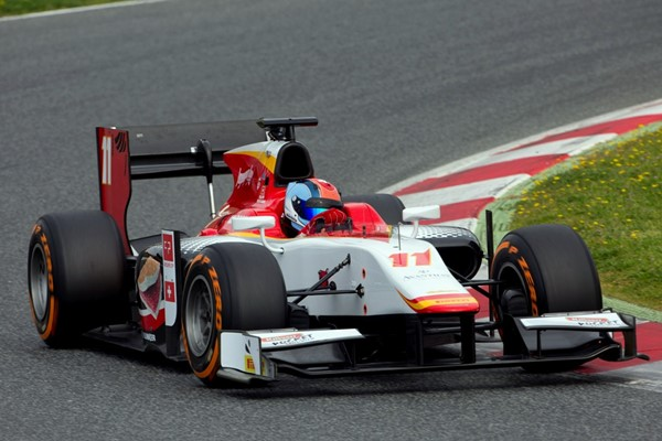 formula 2 test campos racing merhi