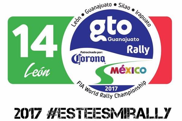 Rallye Guanajuato de Méjico 2017