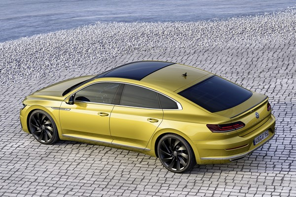 Arteón, nuevo GT en lo alto de la gama Volkswagen