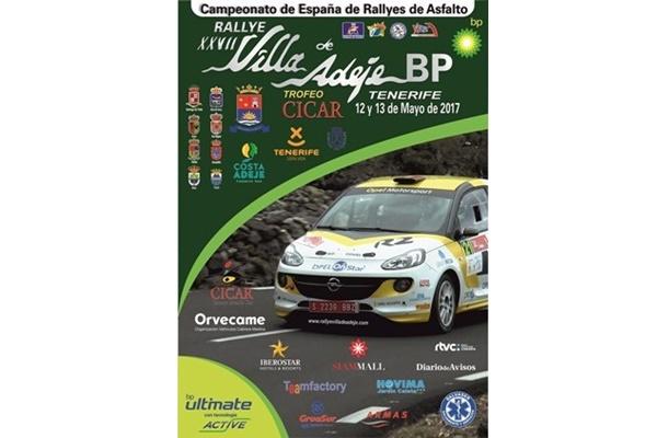 Doce tramos en el Rallye Villa de Adeje