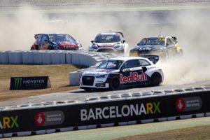 Eriksson barcelonarx rallycross scheider Audi S1