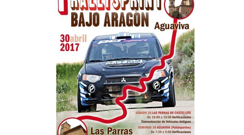 Cartel I Rallysprint Bajo Aragón