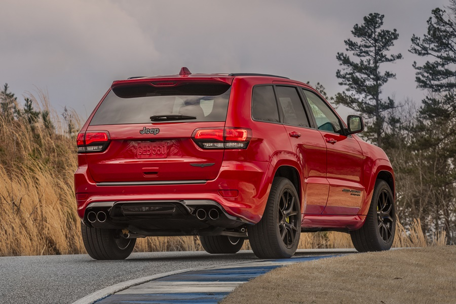 Jeep Cherokee TrackHawk 2017