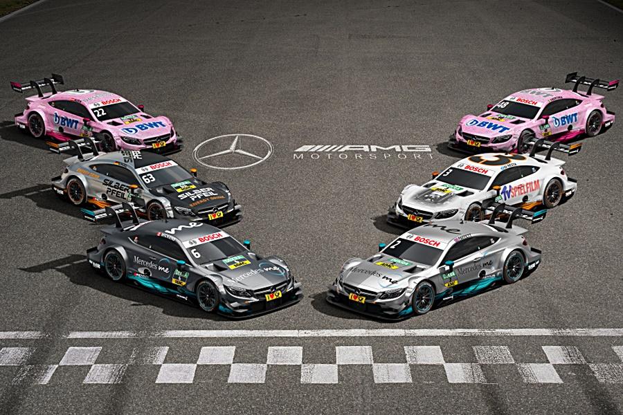 El Mercedes-AMG C63 DTM a punto para empezar el Campeonato