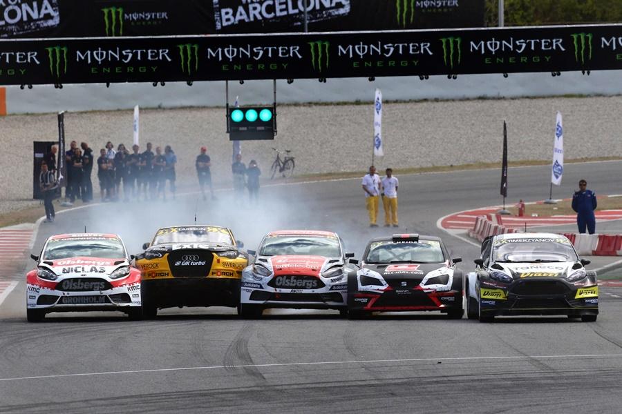 Turno para el FIA World Rallycross Championship en el Circuito de Cataluña