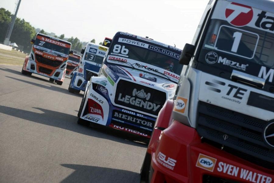 Publicada la lista de inscritos para la temporada 2017 del Europeo de Camiones