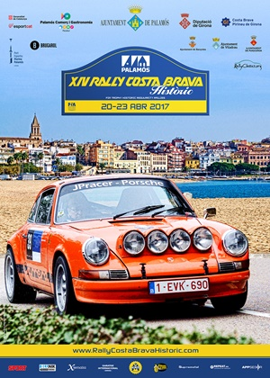 clasicos porsche 911 rallye costa brava cartel