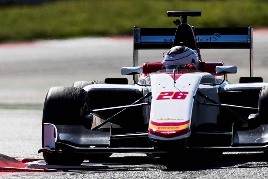 Campos Racing concluye los test de Barcelona entre los mejores