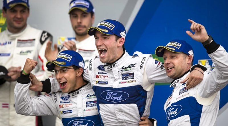 ford 6h silverstone podio wec gt