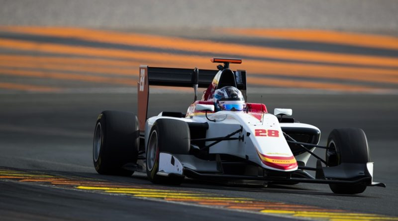 gp3 cheste test campos racing
