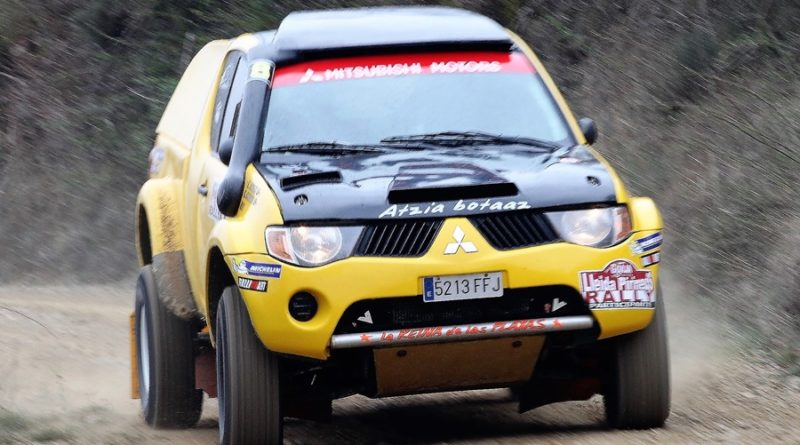 mitsubishi l200 rallyes tt evo cup