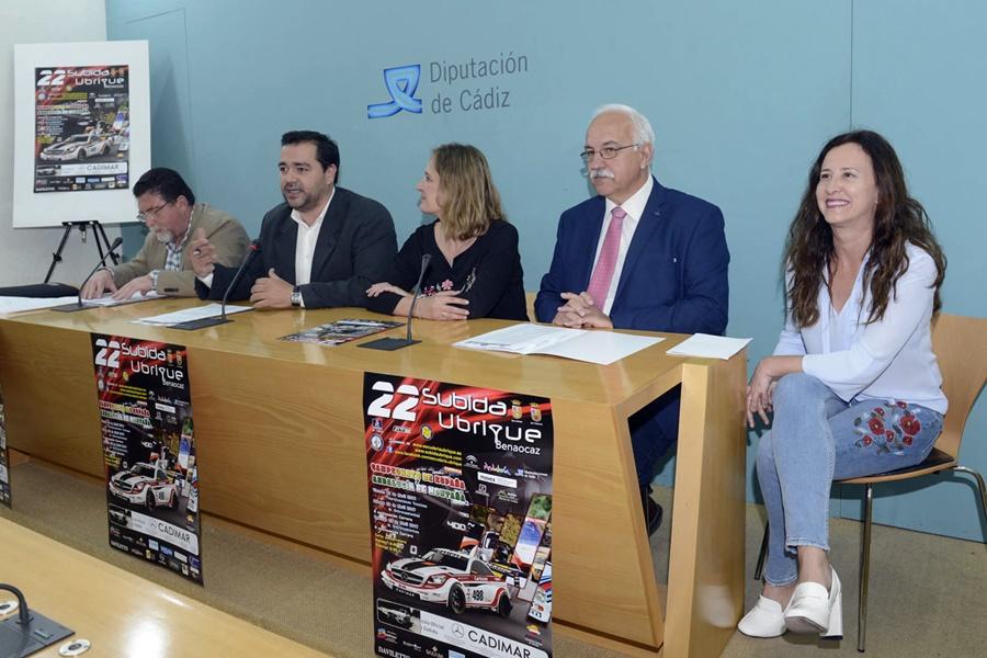 La XXII Subida a Ubrique tendrá el viernes un acto de presentación en las calles de la localidad