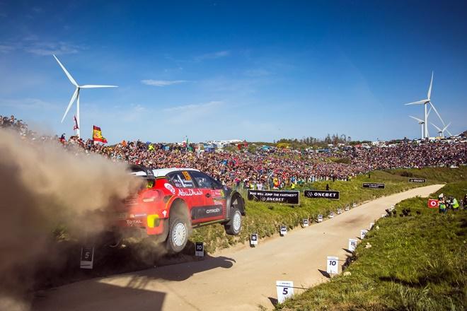 Al Qassimi C3 WRC Rallye Portugal 2017