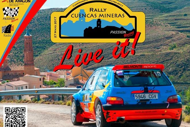 Cartel Rallye Cuencas Mineras recorte