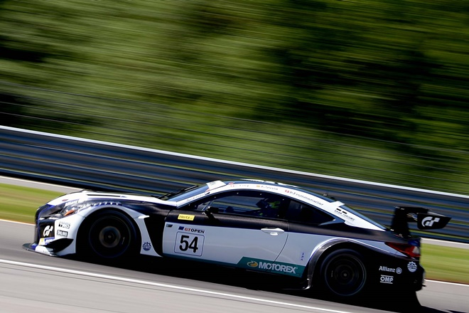 Costa-Frommenwiler gt open lexus rc gt3 spa