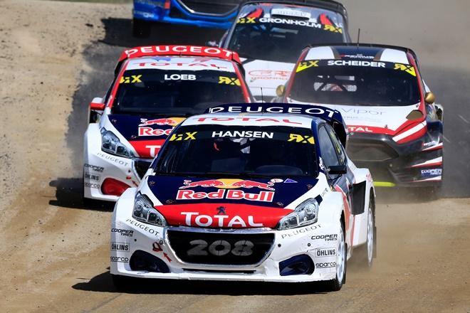 Hassen WRX Rallycross Peugeot 208