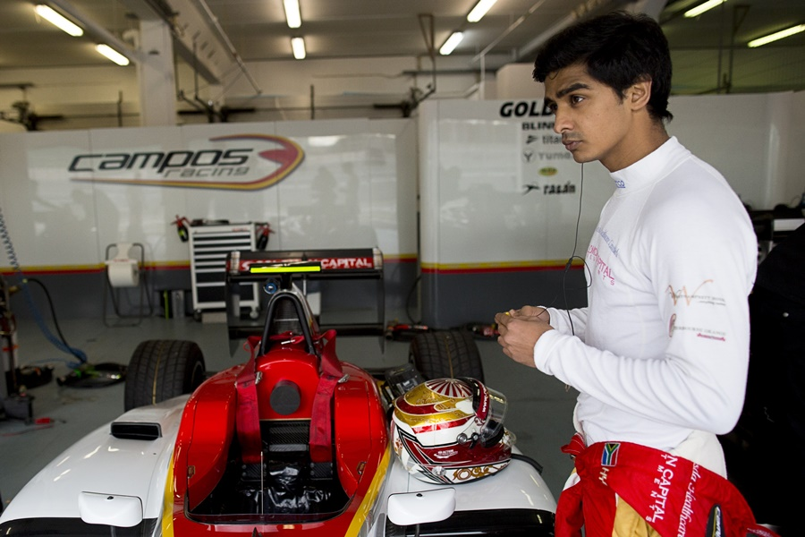 Hyman y Siebert firman con Campos Racing para GP3 Series