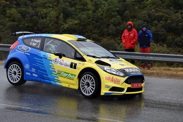 Óscar Palacio gana el Rallysprint Minero Villa de Fabero