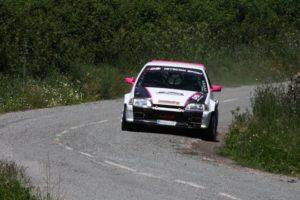 Juan Carlos Fernández estrena palmarés con su victoria en el Rallysprint de Cenicientos