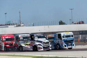Salida camiones misano