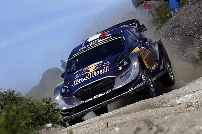 WRC Ogier Ford Fiesta Portugal