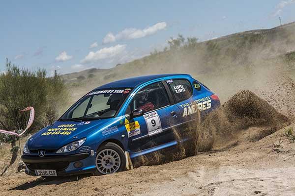 Andrés López se hace con una victoria inesperada en el Rallysprint de Tierra Villa El Molar