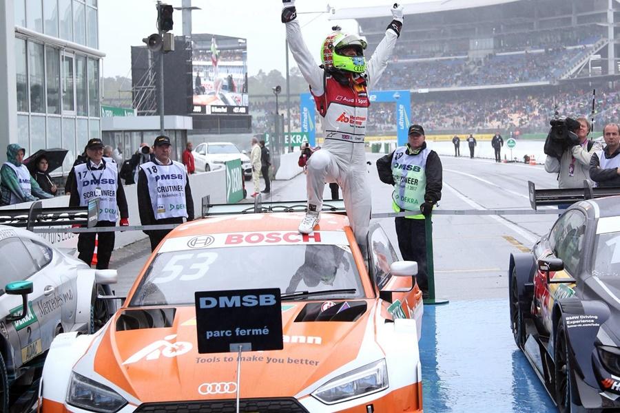 Primera victoria del nuevo Audi RS5 en el DTM