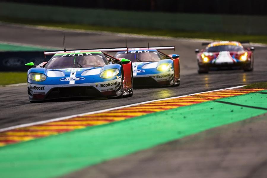 Ford Chip Ganassi Racing sube al podio en Spa para mantener el liderato de Equipos