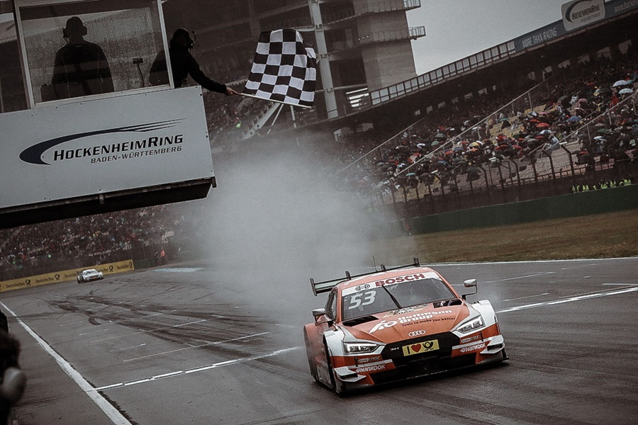 Apretada apertura del DTM con dos podios diferentes con 3 marcas