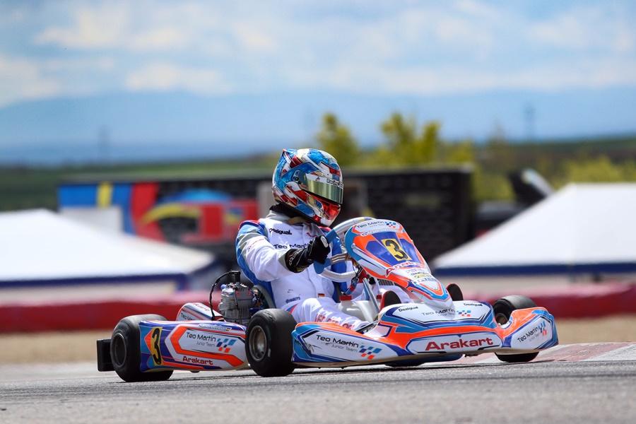 El Teo Martín Junior afronta la segunda prueba del Nacional de Karting en Oviedo