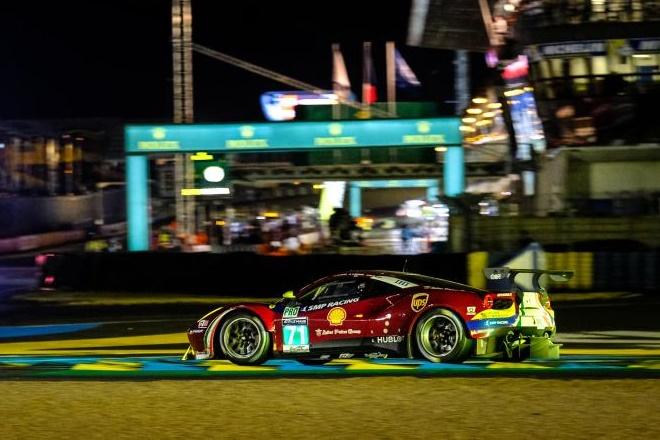 24 hiras le mans Molina Ferrari 488