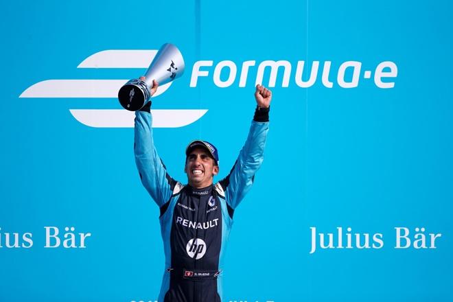Buemi Renault E dams Formula e berlin 2