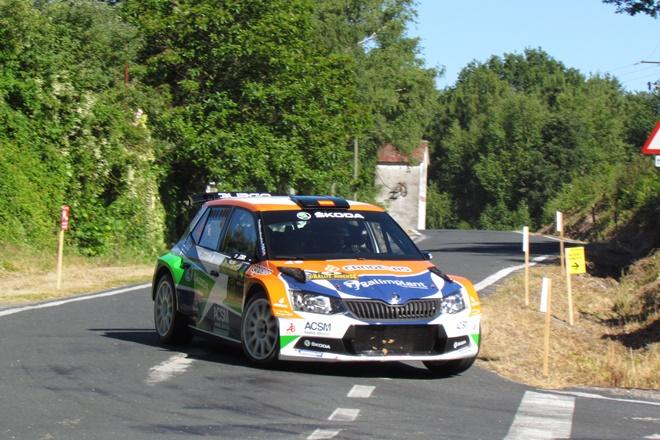 Podio del ACSM Rallye Team en el 48 Rallye de Ferrol