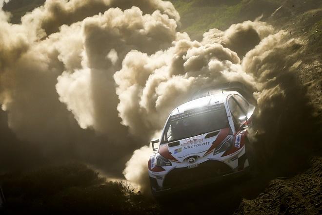 Toyota Gazoo Cerdeña WRC Yaris