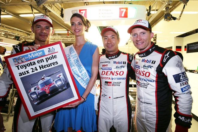 WEC 24 Horas Le Mans Toyota pole record