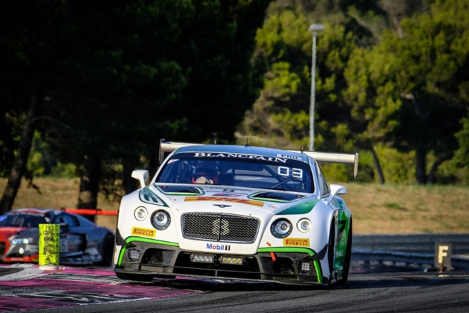 blancpain gt soucek bentley paul ricard